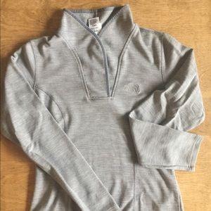 The North Face Sweater, Shawl Neck, Medium, Wool